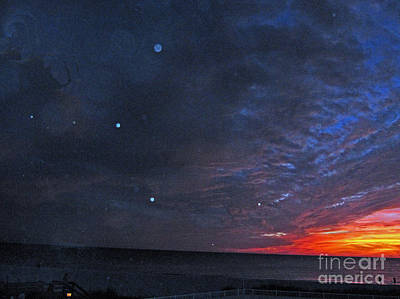 Photograph - Planets Revealed At Sunset by Joan McArthur