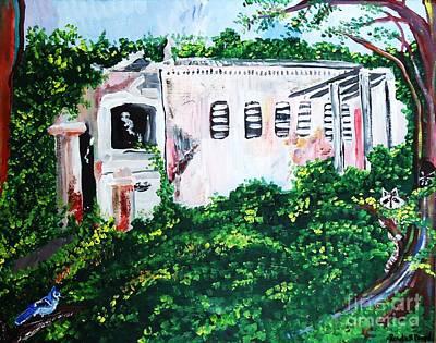 Plantation Ruins Original by Renate Pampel
