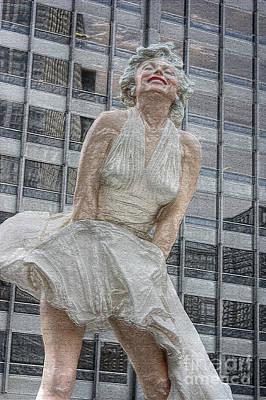 Photograph - Plastic Monroe by David Bearden