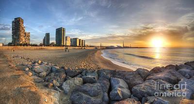 Photograph - Platja De Llevant Sunrise by Yhun Suarez