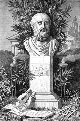 Plato, Ancient Greek Philosopher Art Print by