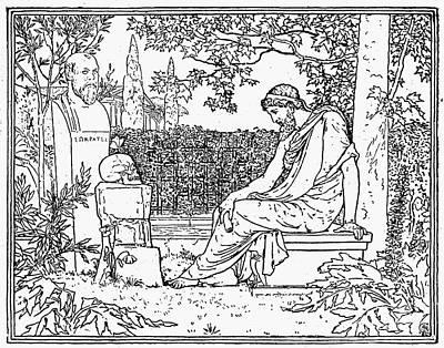 Plato (c427-c347 B.c.) Art Print by Granger