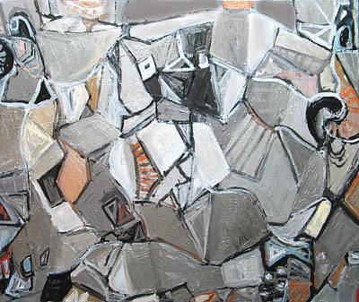 Plato's Metallic Symposium Art Print by Kazuya Akimoto