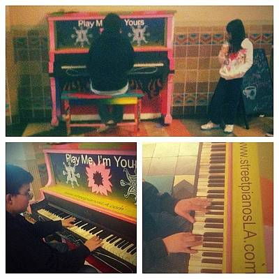 Piano Wall Art - Photograph - Play Me I'm Yours - 30 Public Pianos by Mikal Britt