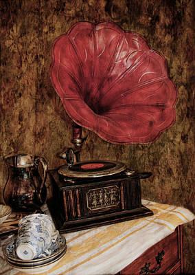 Digital Art - Play Those Old Songs by Julie Williams