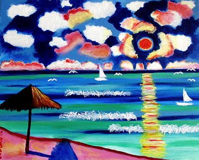 Painting - Playa Sol by Ted Hebbler