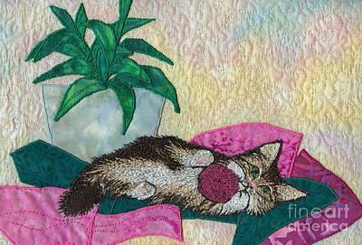 Playful Mischief  Art Print by Denise Hoag