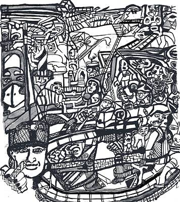 Conscious Drawing - Playland by Dawn M Natera