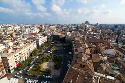 Aeriel View Photograph - Plaza De La Reina by Fabrizio Troiani