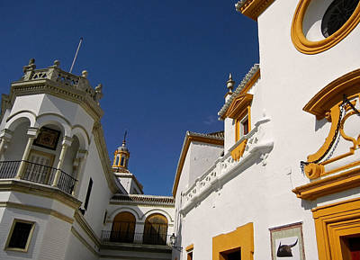 Photograph - Plaza De Toros De La Real Maestranza - Seville by Juergen Weiss