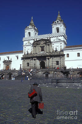 Photograph - Plaza San Francisco Quito Ecuador by John  Mitchell