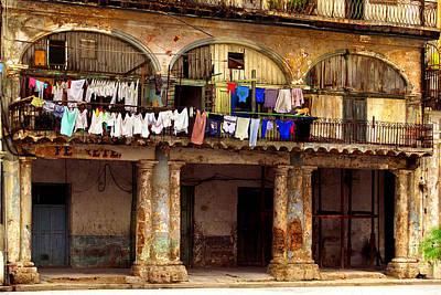 Photograph - Plaza Vieja-habana by John Galbo