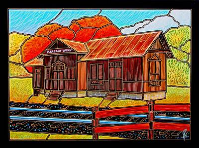 Pleasant Valley Station Original by Jim Harris