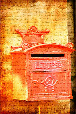Photograph - Please Mr Postman... by Taschja Hattingh