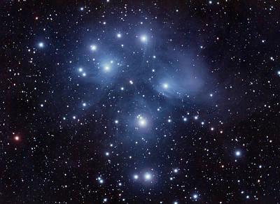Photograph - Pleiades M45 by Dale J Martin