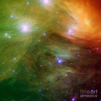 Maia Photograph - Pleiades by Photo Researchers
