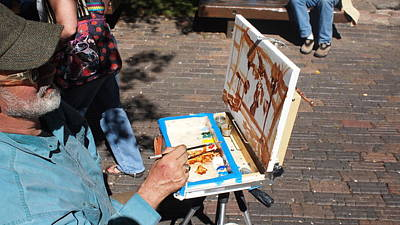 Plein Air At Aspen  Art Print