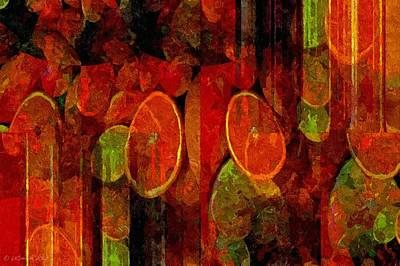 Painting - Plenty Of Fruit - Abstract by Lynda K Cole-Smith