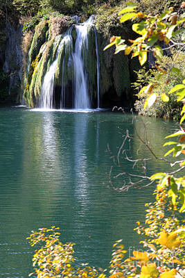 Bath Time Rights Managed Images - Plitvice Royalty-Free Image by Milena Boeva