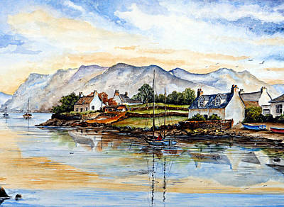 Plockton Scotland Original by Andrew Read