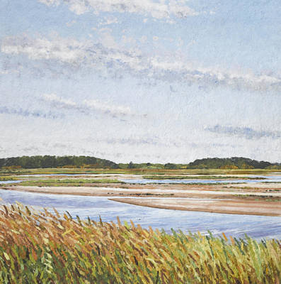 Plum Island Morning Print by Meg Black