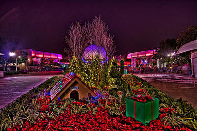 Photograph - Pluto And Spaceship Earth Hdr by Jason Blalock