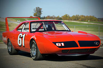 Photograph - Plymouth Superbird by Alan Raasch