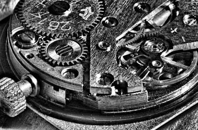 Pocket Watch Mechanism Original by Maxim Sivyi
