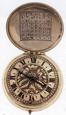 Photograph - Pocket Watch With Perpetual Calendar by Photo Researchers