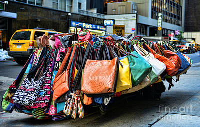 Pocketbooks And Purses Art Print by Paul Ward