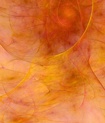 Poetic Digital Art - Poetic Emotions Abstract Expressionism by Georgiana Romanovna