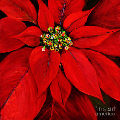 Painting - Poinsettia by Pati Pelz