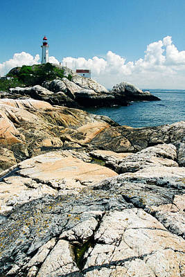 Photograph - Point Atkinson Lighthouse by Frank Townsley