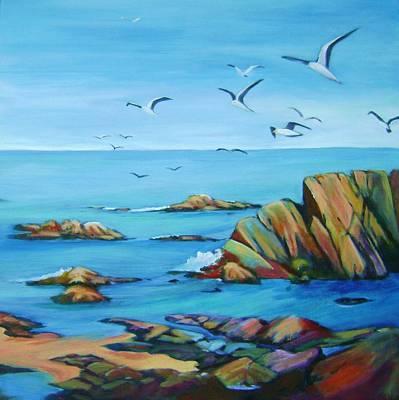 Point Lobos 1 Original by Stephanie  Maclean