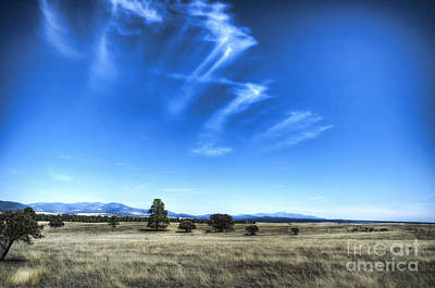 Point Of Pines - San Carlos Indian Reservation Art Print