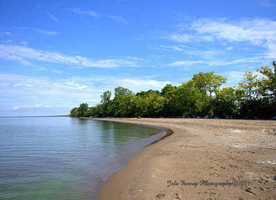 Point Pelee Beach Art Print