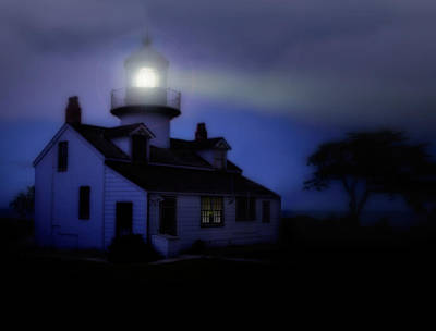 Photograph - Point Pinos Lighthouse by Utah Images