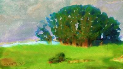 Digital Art - Point Reyes Hillock by Jim Pavelle