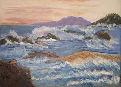 Point Reyes Storm Art Print by Al Steinberg