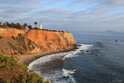 Photograph - Point Vicente Lighthouse by Heidi Smith