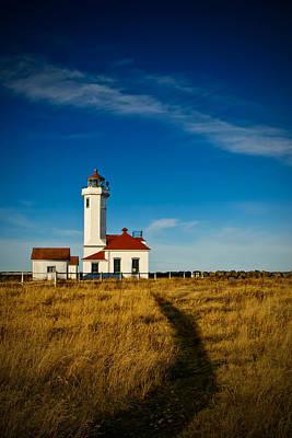 Photograph - Point Wilson Lighthouse by Dan Mihai