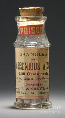 Photograph - Poison Circa 1900 by Science Source