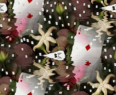 Poker Pop Art All In Art Print by Pepita Selles