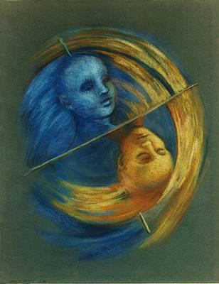 Painting - Polar Shift by Nancy Wait