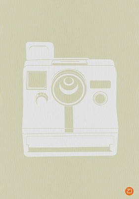 Camera Art Photograph - Polaroid Camera 2 by Naxart Studio