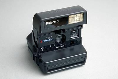 Photograph - Polaroid Camera by Victor De Schwanberg