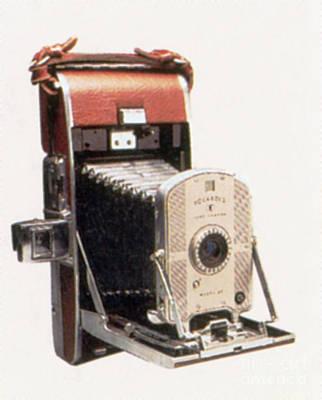 Polaroid Camera Photograph - Polaroid Land Camera, Circa 1947 by Photo Researchers