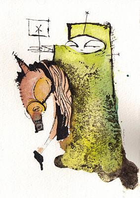 Polemos 4  Art Print by Mark M  Mellon