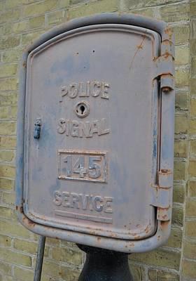 Police Signal Box Art Print by Daryl Macintyre
