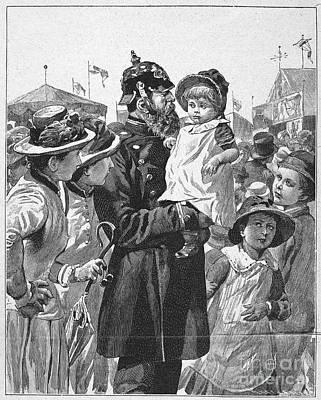 Policeman, 1885 Art Print by Granger